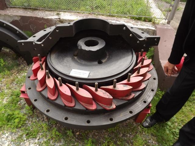 turbina Francis 1905