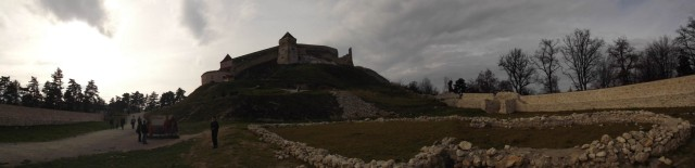 panorama cetate rasnov