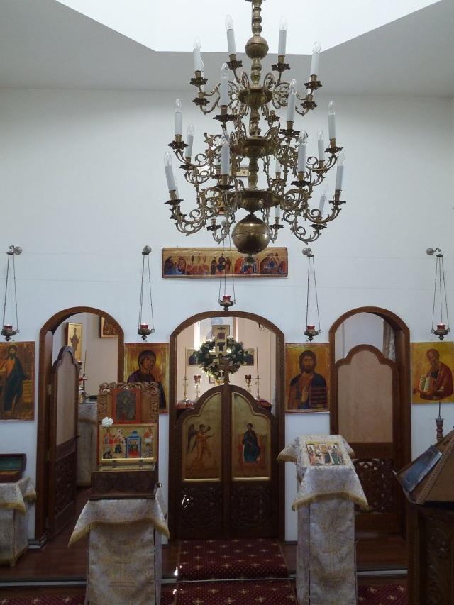 Interior Biserica - Manastirea Cornu