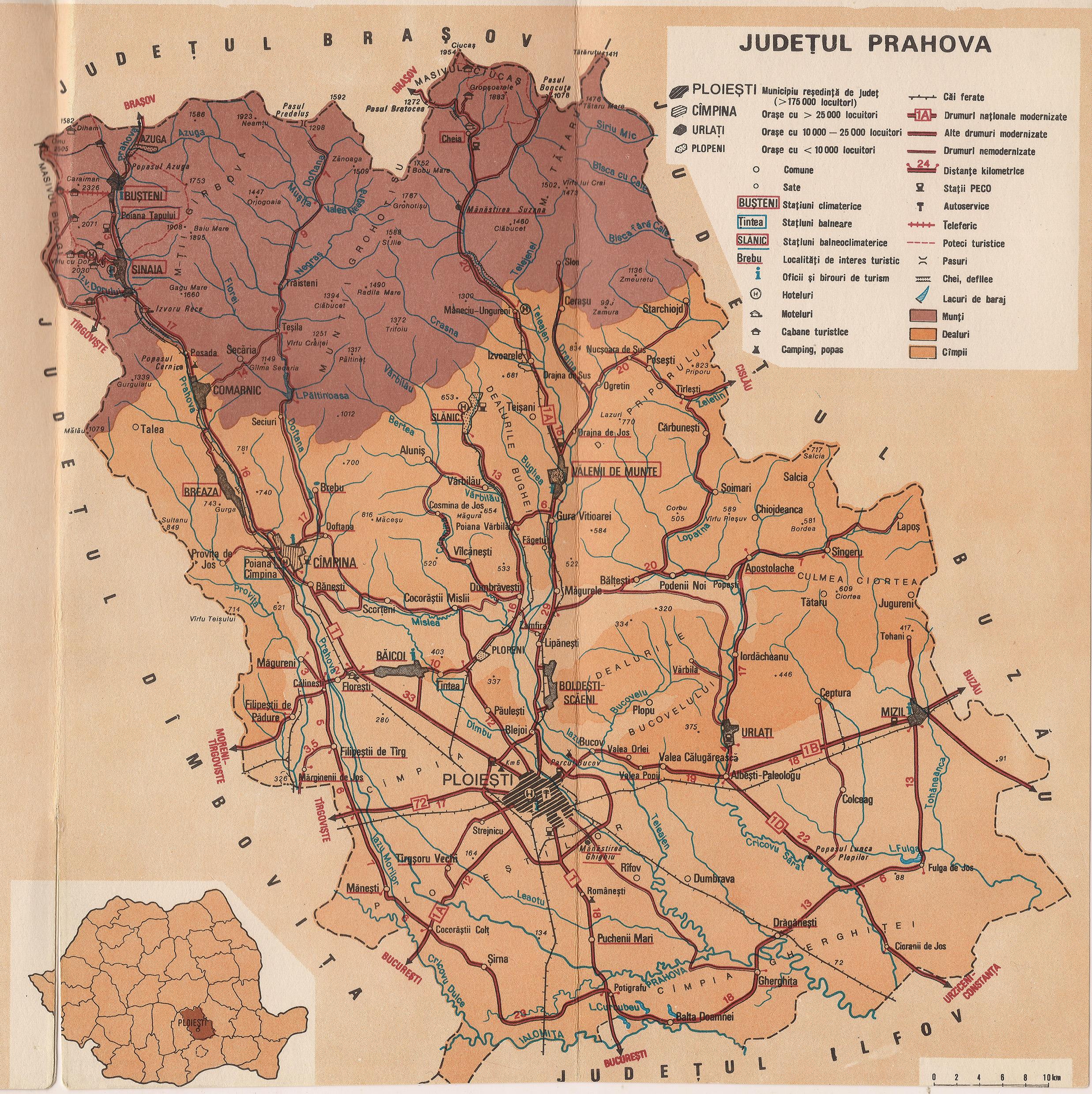 Scurta Prezentare Geografica A Judetului Prahova Peregrinprinlume