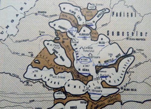 apuseni - geografia romaniei, EDP