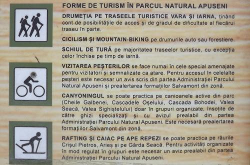 forme turism in muntii apuseni