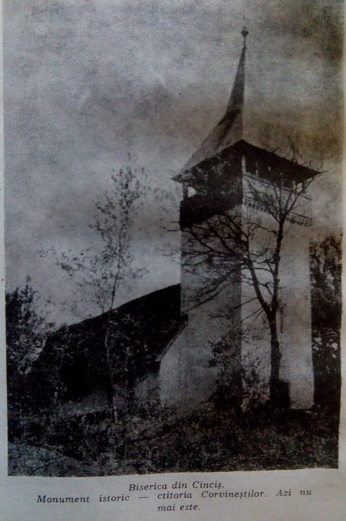 biserica din cicncis