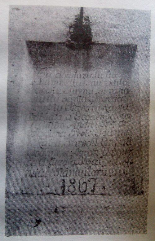 inscriptie cincis