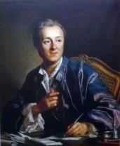 Denis Diderot, Huile sur toite de Loius-Michel van Loo, 1767,Paris