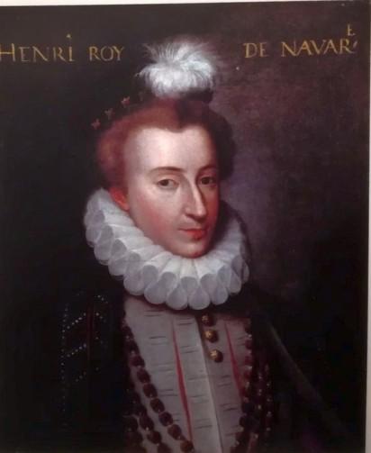 Henry de Navarre, vers 1575