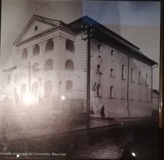 Grande synagogue de Czernowitz, Bucovine